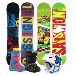 Packs Snowboards Enfants