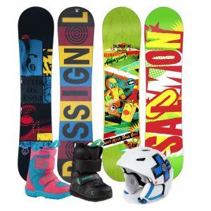 Packs Snowboards Enfants