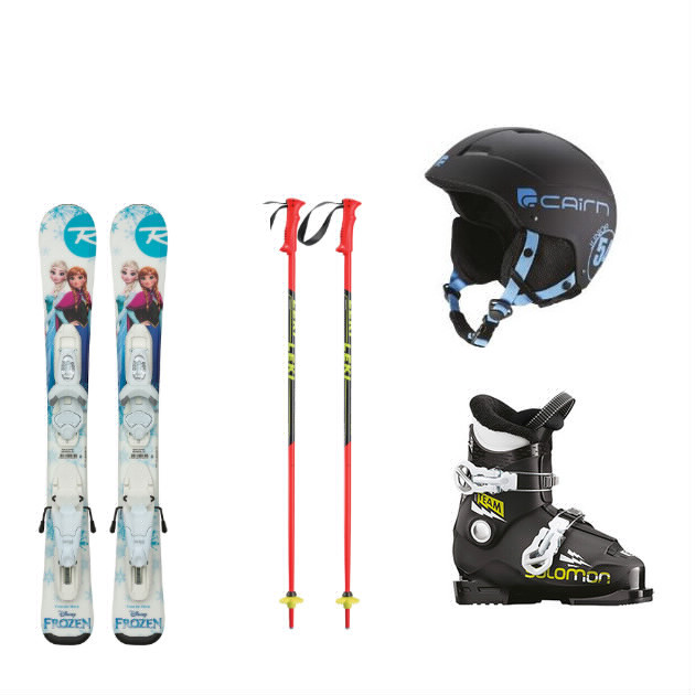 Packs Skis Children 3 - 6 years
